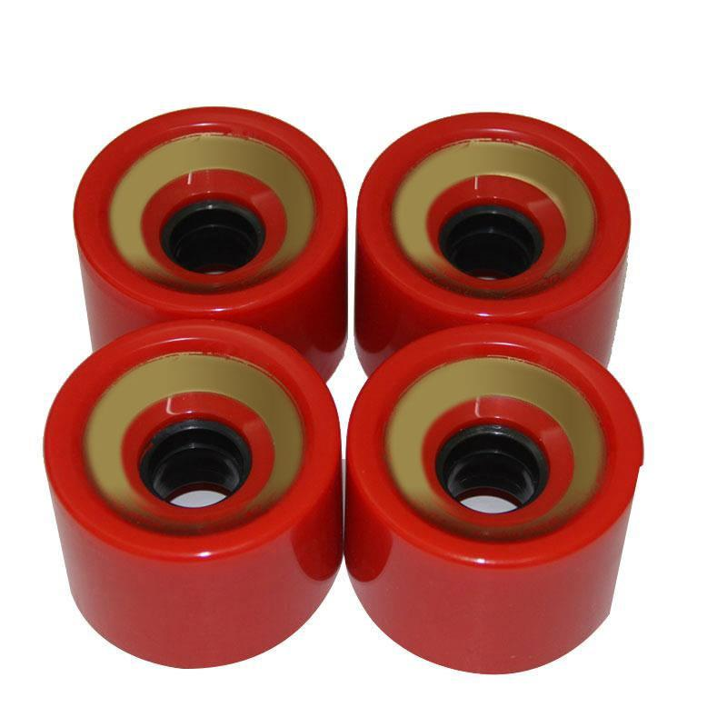 1pc Skateboard Wheels Bearings Elastic PU Wearable Flexible Durable 70x51 Sports