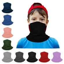 Warmer Mask Headband Scarf Protective-Mask Unisex Children Sunscreen Neck-Guard Cycling