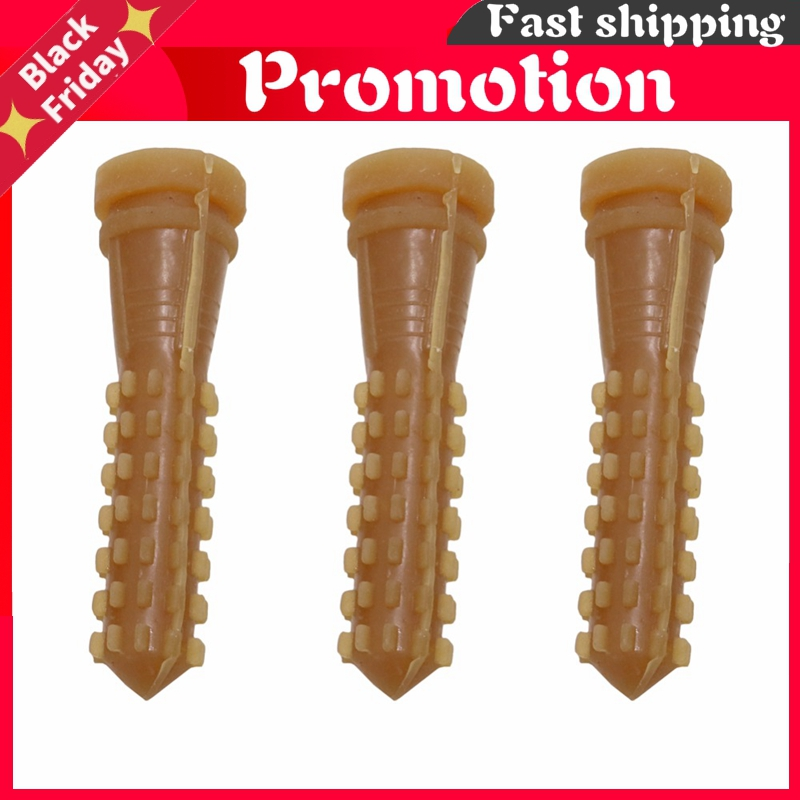 50 pcs 9.5 cm Poultry Plucking Fingers Hair Removal Machine Glue Stick Chicken Plucker Beef tendon material corn rod