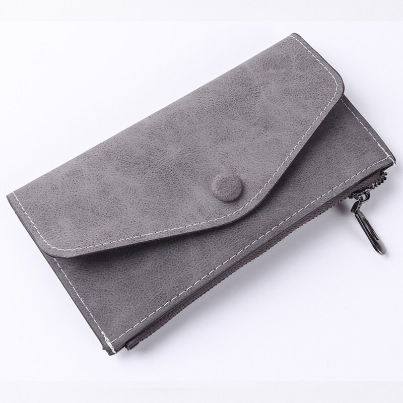 JODIMITTY Women Long   Fashion Wallet  Leather Zipper Casual Cell Phone Pocket Coin Bag Female Hasp Clutch Purse Card Holder