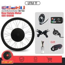 _ Комплект для конверсии колес 20, 26 дюймов, 48 В, 1000 Вт, заднее вращающееся колесо, мотор для велосипеда на толстых покрышках, 4 цвета, для электр...