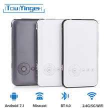 5000mah Touyinger Everycom S6 artı pico cep taşınabilir projektör akıllı telefon Android dlp wifi mini led Android Bluetooth