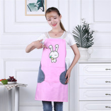 Wipe hand strap Japanese home kitchen cooking waterproof oil-proof apron fashion female characters cute work все цены
