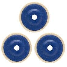 3 шт. абразивные инструменты угловая шлифовальная машина Полезная 4 дюйма 100 мм зеркальное стекло многофункциональная домашняя круглая полировка колеса из искусственной шерсти