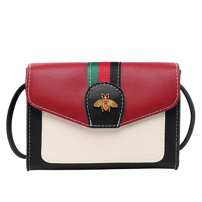 2020 Summer Korean Student Female Shoulder Bag Messenger Bag Decorative Fashion Hit Color Tide Small Square Bag
