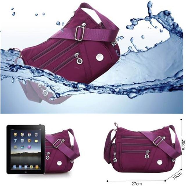 New Casual Crossbody Shoulder Bag Women Bag Nylon Waterproof Messenger Bags For Lady Handbags High Quality Multifunctional 3
