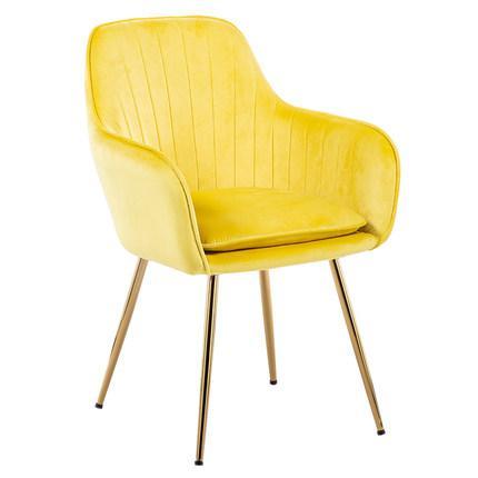 Принцесса Принц леди нордический Золотой Железный Металл мягкий бархат обеденный стул домашний комод Свадебный праздник ужин бар кофе диван стул - Цвет: C4