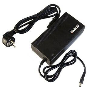 Image 5 - Frete grátis 48 v 2a li ion carregador de bateria usado para 48 v bicicleta elétrica saída de carregamento da bateria 54.6v 2a alta 48v2a carregador
