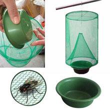 Многоразовая зеленая ловушка для мух борьбы с мушками вредителей
