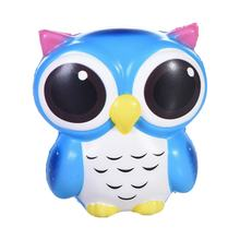 Lovely Kawaii Owl Doll Soft Slow Rising Pendant Phone Straps Squeeze Decompression Toys Office Stress Reliever Toys Clearance(China)