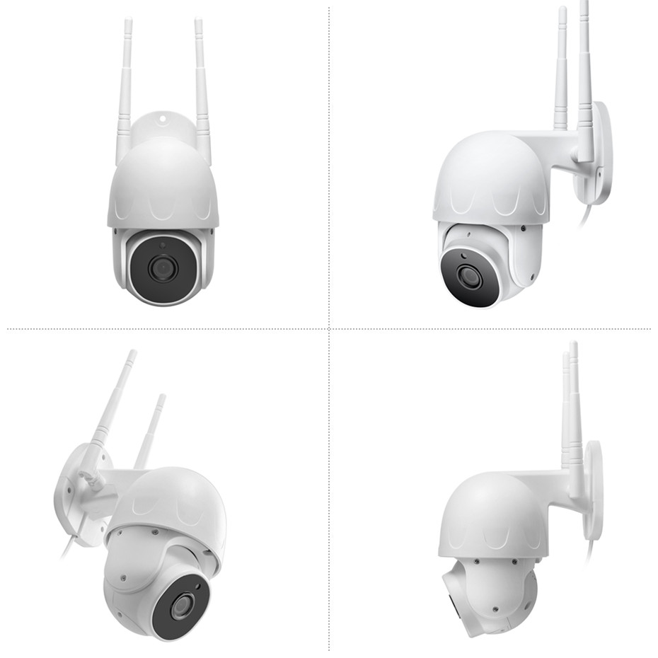 Anpviz 2MP WiFi PT Camera Pan/Tilt Human Detection Wireless Security Camera WiFi Two-Way Audio Built-in Mic and Speaker 128GB