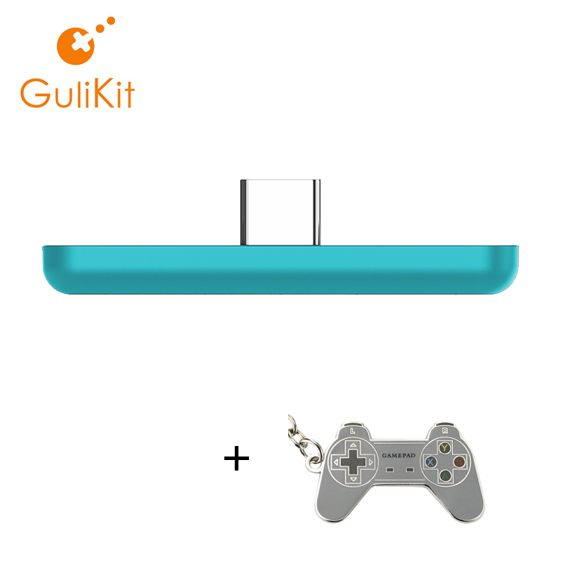 GuliKit NS07 Route Air Color Wireless Audio USB Transmitter or Type-C Adapter for Nintendo Switch,Switch Lite PS4 and PC(China)