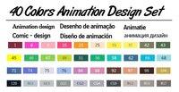 40 Animation set