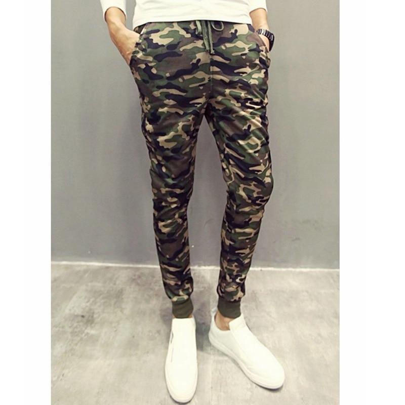 2019 Ouma New Style Korean-style Camouflage MEN'S Sports Pants Sweatpants Harem Pants Trousers