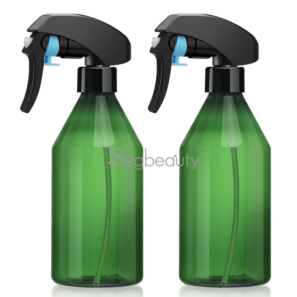 Garrafa de Spray de Cabeleireiro Garrafa de Pulverizador de Névoa Garrafa de Spray de Cabelo Garrafa de Névoa de Planta Pacote Recarregável Contínuo 2 300 ml
