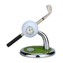 цена на Mini Desktop Golf Ball Pen Stand with Golf Pens 2-Piece Set Of Golf Souvenir Tour Novelty Gift
