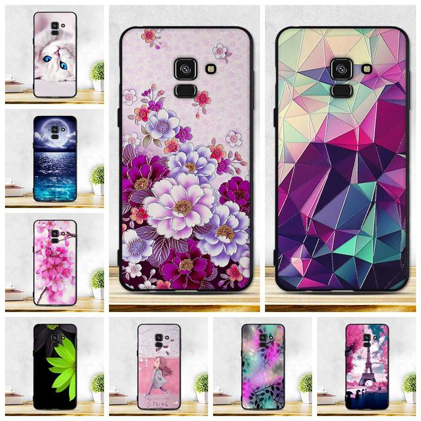 For Samsung Galaxy A8 2018 Case Cover For Samsung Galaxy A8 2018 A530 A530F SM-A530F Cover Soft TPU Bag For Samsung A8 2018 Case