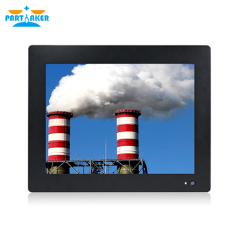 Partaker 12.1 Inch Industrial Touch Panel PC Intel J1800 All in One Computer 4 Wires Resistive Touch Screen Windows 7/10,Linux