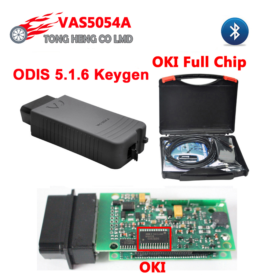 Oki-Chip Protocol VAS Plastic-Box 5054-Support Odis-5.1.6 5054A UDS Bluetooth with Keygen title=
