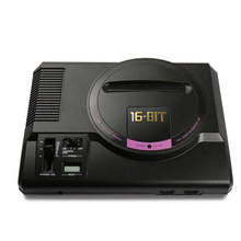 цена на Hot HDMI 16 bit Video Game Console SEGA MEGA DRIVE 1 Genesis High definition HDMI TV Out with 2.4G Wireless Controlle Cartridge