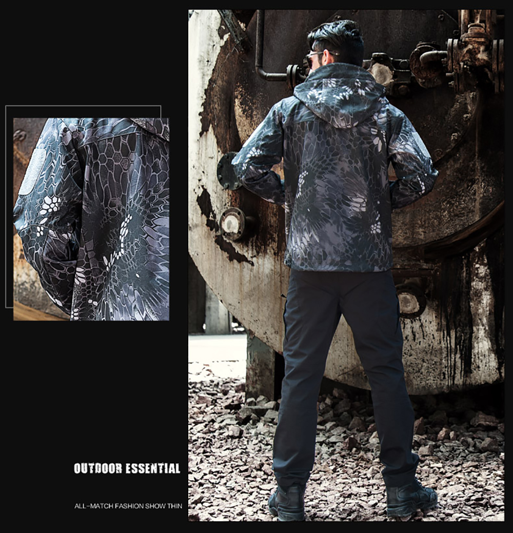 Sinairsoft camuflagem jaqueta masculina casaco militar tático