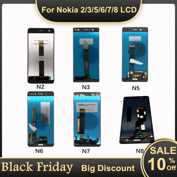 100% Test LCD Display For Nokia 8 7 6 5 3 2 LCD Display Touch Screen Digitizer Assembly For Nokia N2 N3 N5 N6 N7 N8 LCD Screen 5 5 lcd for oneplus two 2 a2001 lcd display touch screen digitizer assembly replacement for oneplus 2 lcd