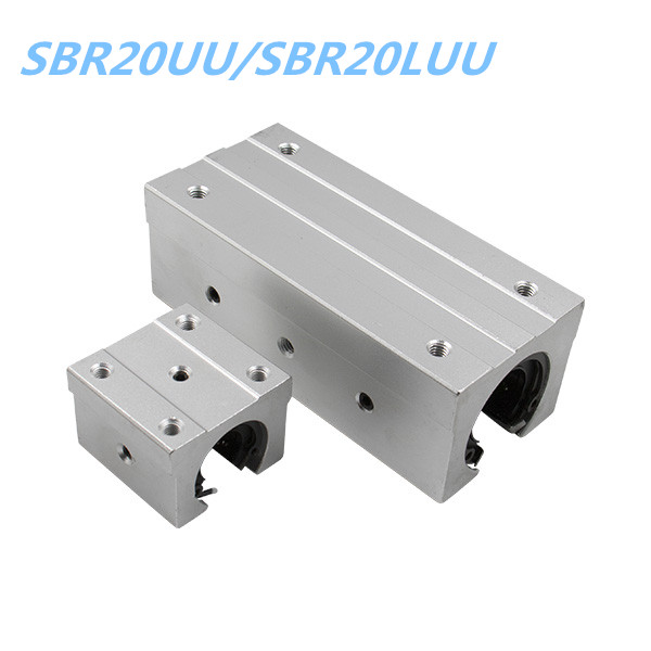 20mm Linear Rail Block SBR20UU/SBR20LUU For SBR20 RAILS