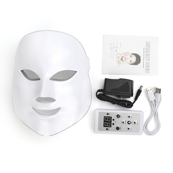 Deciniee 7 Colors LED Facial Mask Face Mask Machine Photon Therapy Light Skin Rejuvenation Facial PDT Skin Care Beauty Mask pdt photon led facial mask skin rejuvenation wrinkle removal electric device anti aging mask therapy beauty machine