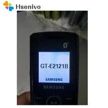 E2121B 100% Original Unlocked Samsung Guru E2121B GSM One Sim Card FM FM Radio