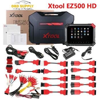 Heavy Duty Diagnostic Tool Xtool EZ500 HD Full System Auto Key Programmer Engine ABS ACM CDS COM SRS DPF WIFI Special Function