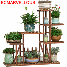 Interior Rack For Living Room Repisa Mueble Estante Estanteria Para Plantas Outdoor Balcony Flower Shelf Dekoration Plant Stand