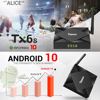 Tanix TX6S TV BOX Android 10 Smart tv box 4GB RAM 32GB 64GB ROM TVBox Allwinner H616 Quad Core Box H 265 4K Media player 2GB 8GB review