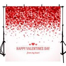 Czerwona miłość walentynki tło na urodziny pełny ekran miłość tło fotograficzne tła fotograficzne studyjne dla photo studio