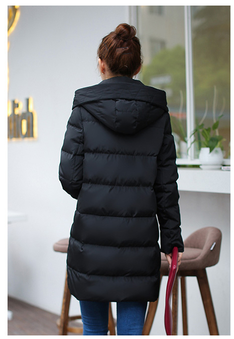 Hight Quality Autumn Winter Duck Down Women Jacket 2020 Warm Long Winder Breaker Female Hooded Overcoat Plus SizeLX1005