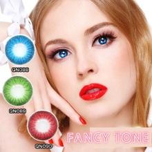 1 Pair (2pcs) Crazy contact lenses Coloured Contact Lenses for Eyes Cosmetic Contact Lenses Halloween Contacts cheap FANCY TONE 14 5 Two Pieces 0 06-0 15 mm HEMA Beautiful Pupil q088-090