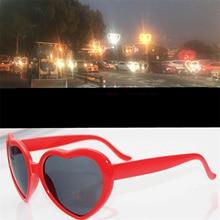 Rave Glasses Lens Diffraction Grating Love Red Laser 1pc Fireworks Light-Show Orbit Heart-Shape