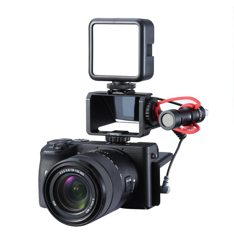 Flip Screen Micro Single Camera Refracting Mirror Suitable For Sony A6500/6300/A7M3 A7R3 Nikon Z6Z7  UURig Vlog