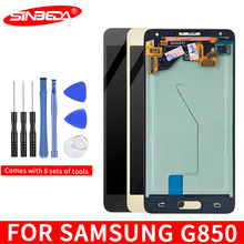 Sinbeda Super AMOLED 4.7''LCD For Samsung Galaxy Alpha Note 4 Mini LCD Display Touch Screen Digitizer G850 G850F G850M G850K LCD цена