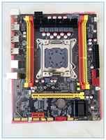 Nova placa-mãe do desktop x79 v2.72a lga 2011 usb3.0 ddr3 ecc para intel i7 E5-V1 E5-V2 64 gb sata3 x79 placas de mainboard pc vendas