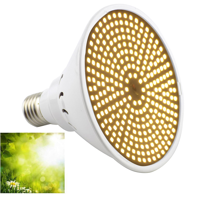 New Full Spectrum 290 LED Indoor Plant Grow Light Bulbs E27 Lamp Veg Cultivo Growth Green House Hydro Sunlight Phyto Lamp Flower