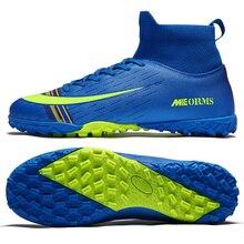 Sneakers Soccer-Shoes Turf Futsal Zapatos-De-Futbol Training Kids Indoor Original Men