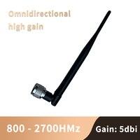 2G 3G 4G 900 1800 2100 2600 MHZ 800 2700MHZ 안테나 5dbi N 커넥터 실내 안테나 GSM WCDMA 리피터 부스터 증폭기|신호 부스터|   -