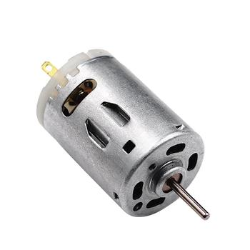 RS-385 12V Brush DC Motor High Speed Micro DC Motor Brushed Metal Stainless Steel Gear Motor For Electric Appliance Tools Parts image