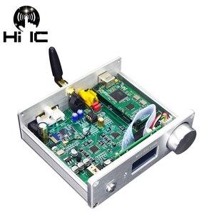 Image 2 - Двойной ЦАП AK4493 * 2 Bluetooth 5,0 поддержка оптического коаксиального входа HiFi аудио декодер 192 кГц DSD RCA выход с дистанционным управлением