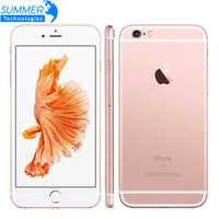 Original Apple iPhone 6 6S/6S Plus teléfono móvil IOS Dual Core 2GB RAM/16/64/128GB ROM 12.0MP huella dactilar 4G LTE Smartphone