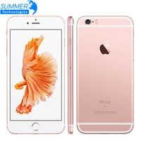 Téléphone portable d'origine Apple iPhone 6 S/6 S Plus IOS double cœur 2GB RAM 16/64/128GB ROM 12.0MP empreinte digitale 4G LTE Smartphone