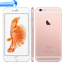 Téléphone portable dorigine Apple iPhone 6S/6S Plus IOS double cœur 2GB RAM 16/64/128GB ROM 12.0MP empreinte digitale 4G LTE Smartphone