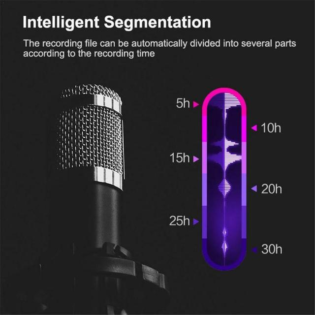 8GB Small Voice Activated Mini Clip On Magnetic  4