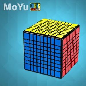 MofangJiaoshi MoYu MF8 8x8x8 и Meilong 9x9x9 Stickerless Cube 8x8 9x9 Speed Puzzle Magico Cubo развивающие игрушки Детская игра