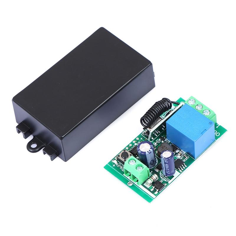 433MHz AC 110V 220V 1CH ricevitore modulo interruttore telecomando senza fili RF